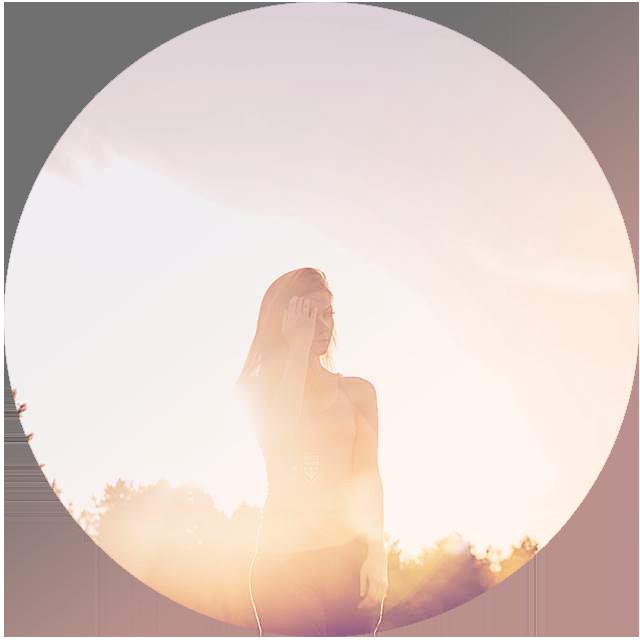 Disa Braun in the sunset